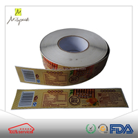 High quality china factory peelable waterproof adhesive vinyl sticker label paper