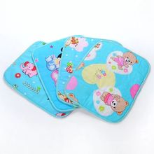 Waterproof breathable newborn baby bed pad Washable urine pad for baby