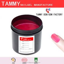 TAMMY Glitter Color Change Gel UV Gel in bulk MOQ 1kg Soak off Temperature Change Gel Polish