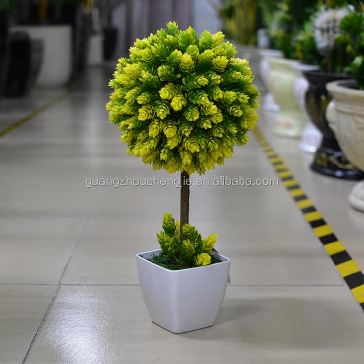 chirstmashomeoffice potted plant bonsai tree plastic table decorative small plant pots bonsai tree office table