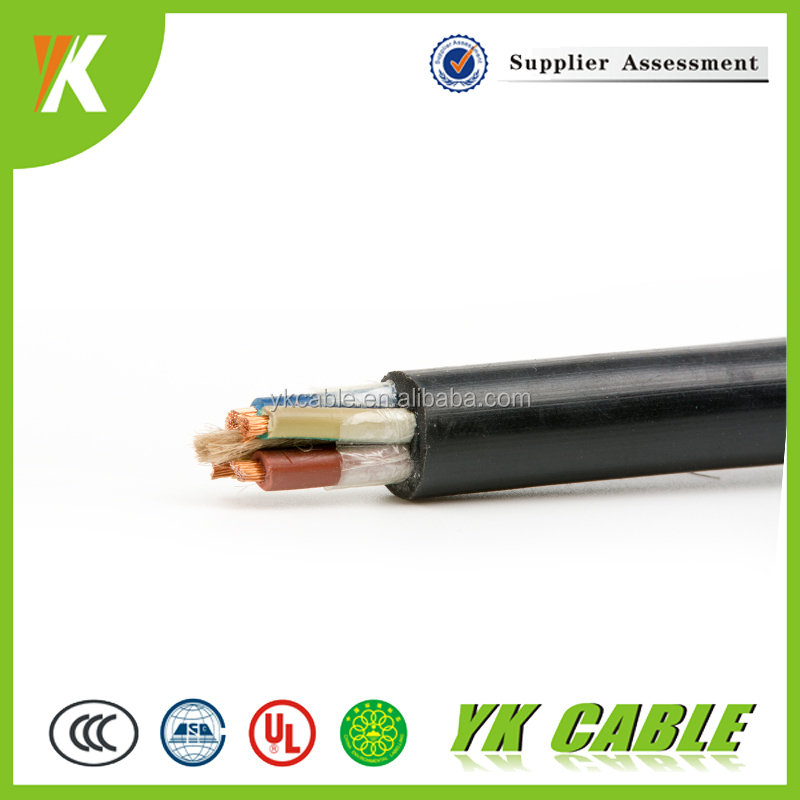 Pricing for flexible copper wire 14 gauge 4 core power cable