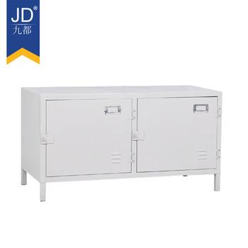 Home Furniture Steel Locker Table 2 Door Low Storage Cabinet Metal Office  Furniture Filing Cabinet