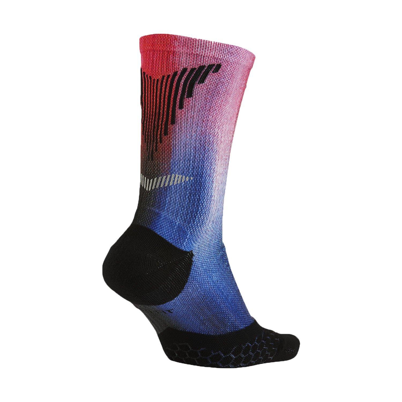 Nike Women s Elite Digital Ink Running Crew Socks Medium (7.5-9) Black Pink ac92b5075b