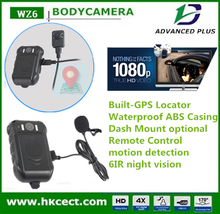 Super HD 1080P night vision body cameras on police with built-in wifi and auto infrared LED