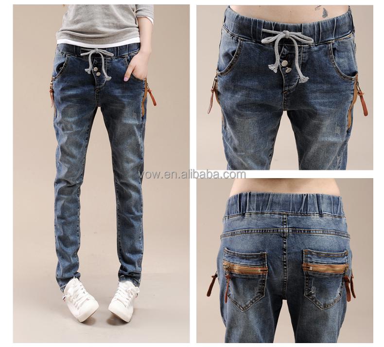 Euramerican Ninth Low Waist Easy Leisure Harlan Light Color Jeans ...