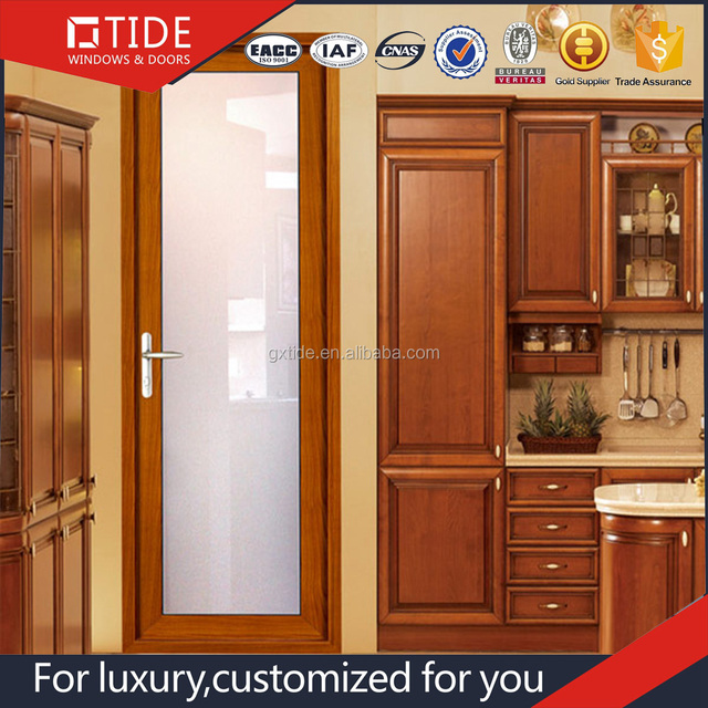 Aluminum Alloy Swing Glass Door,Retractable Bi Fold Door,Interior Doors  Prices