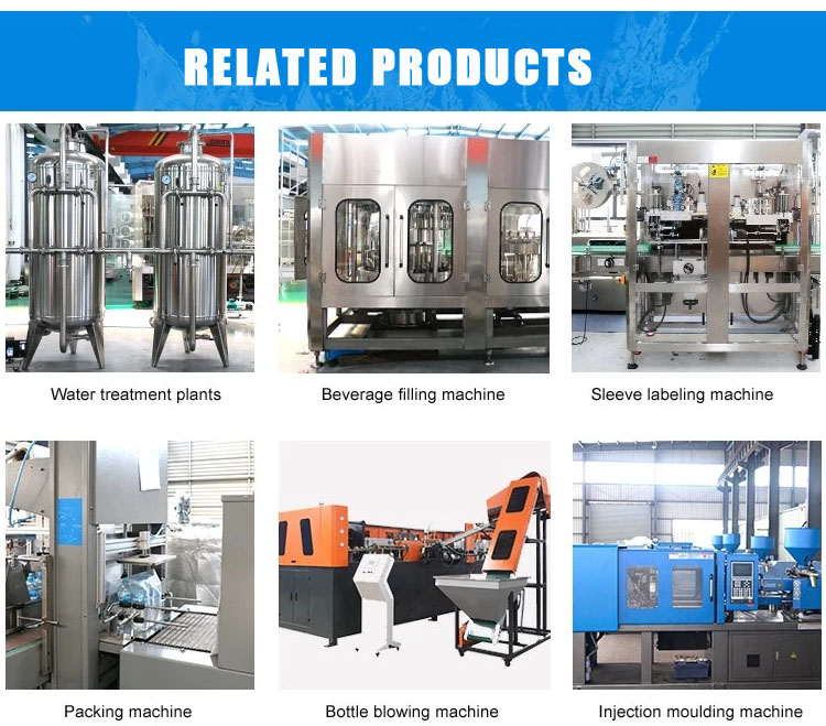 100ml/150ml/200ml/250ml Automatic Water Pet Bottle Beverage Liquid Filling Machine 12-related-products.jpg
