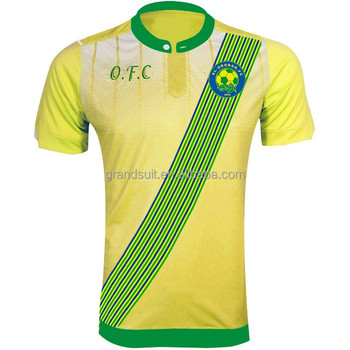 2a456f20e205d Custom design soccer jerseys yellow, customized football t-shirt, thailand  quality team shirts plain, View Customize embroidery logo, Product Details  ...