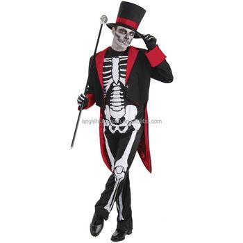 super beliebt moderne Techniken Promo-Codes Mr Bone Jangles Mens Skeleton Halloween Kostüm James Bond Kostüm Für  Erwachsene Agm3395 - Buy Kostüm,Skelett Kostüm,Halloween Kostüm Product on  ...