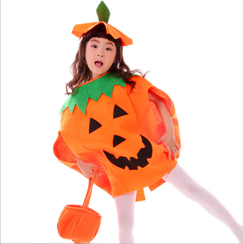 4930a7fdb88 Classic Cute Pumpkin Cosplay Clothes Kids Adult Fancy Party Clothing  Decorations Children Gifts Fancy Dress Halloween Costumes