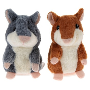 stuffed mouse talking hamster plush toy