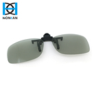 Clip on real d polarized 3d glasses wholesale