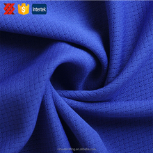 Hot sale dry fit 100% polyester athletic soft touch jersey mesh fabric