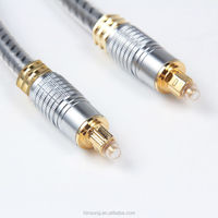 Hot!!! High quality fiber optical cable gold connector