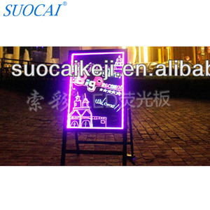 2014 New hot products shenzhen marker pen led writing board