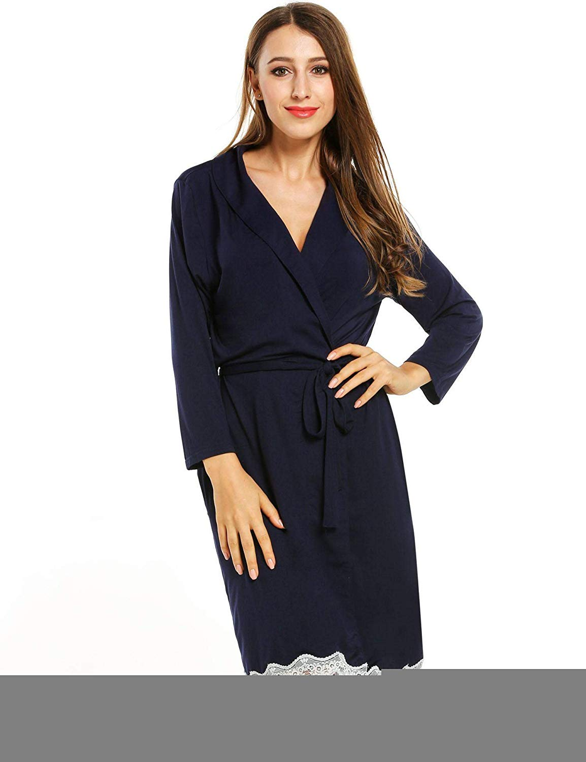 Get Quotations · Kindsells Women Night Robe Cotton Long Women Night Robe  Cotton Night Robe Women Plus Robes 87bf57dec