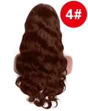 250 густой парик с подкладкой 360 кружева спереди al парик перуанские волнистые человеческие волосы парики для черных женщин предварительно со...(Китай)