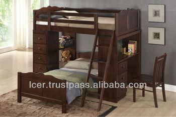 Etagenbett Für Kleinkind : Kinderzimmer für zwei kinder mit kompakten etagenbetten einrichten