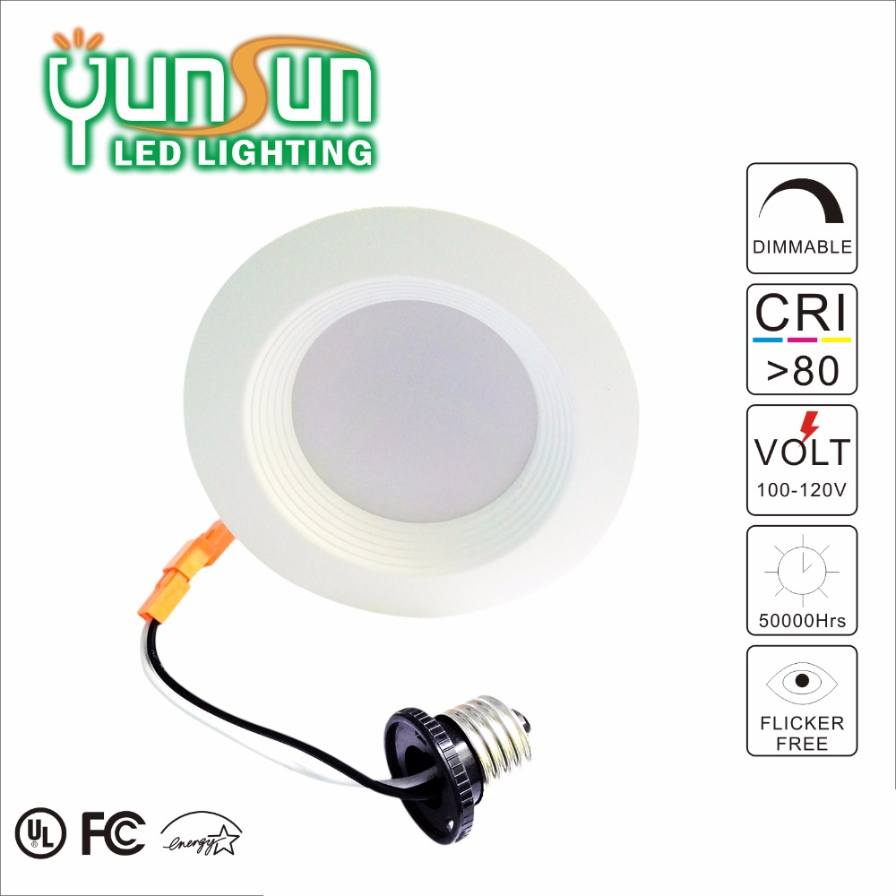 4 inch retrofit recessed 11w dimmer anti glare led downlight,ul certified led downlight