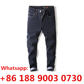 TheTrue brand china Factory Wholesale men Jeans Distressed Denim Pants