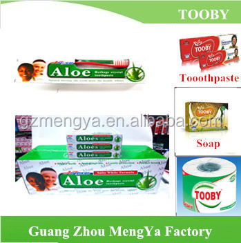 TOOBY Brand factory price good quality toothpaste 60 g 160g
