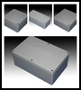 IP66 aluminum enclosure 85*85mm for electrical industry, TIBOX brand or no brand
