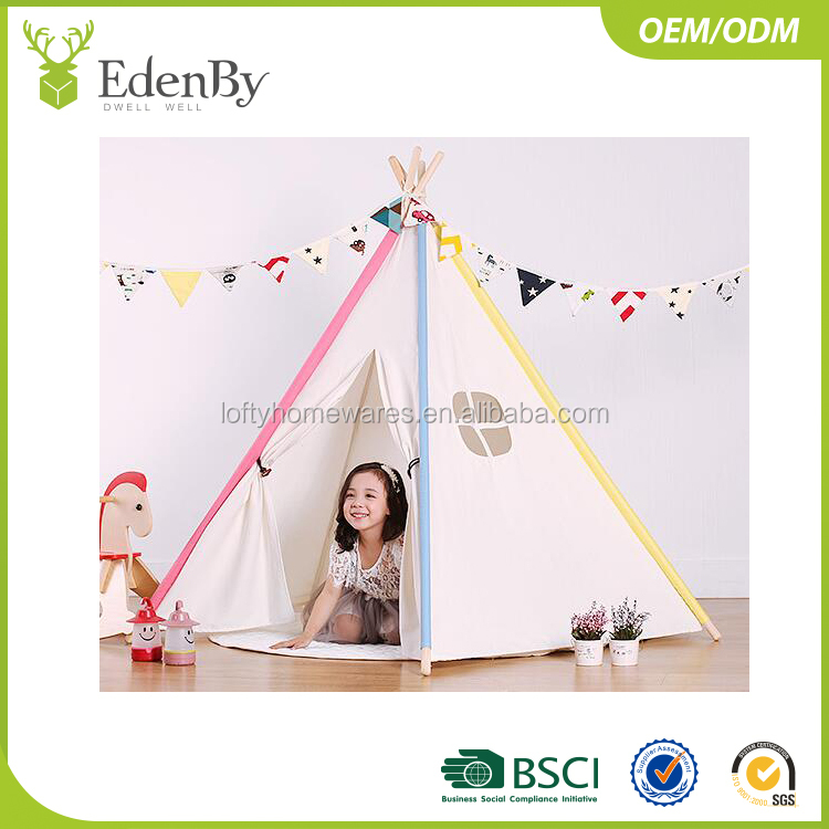 Standing Room kids play tent house Cabin Camping Tent Head Room 2 Big Screen Doors