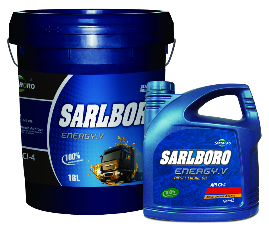 Brand name: Sarlboro -Energy.V oil Factory Supply CI-4 Semi Synthetic Lubricants 20W/50 Diesel Engine Oil motor oil