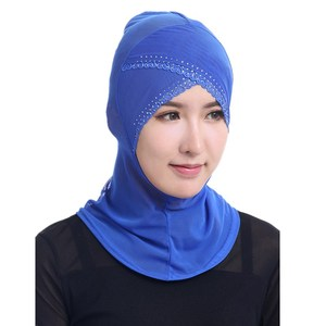 High-end hot sale instant shawl inner hijab high quality muslim dubai hijab in stock