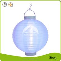 Battery Operated Red LED Nylon Lanterns
