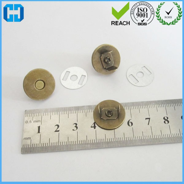 New Product Metal Magnetic Snaps Button For Handbag Hardware