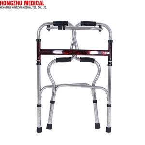 Rehabilitation Therapy Supplies exercise aluminum walker with wheels for adults