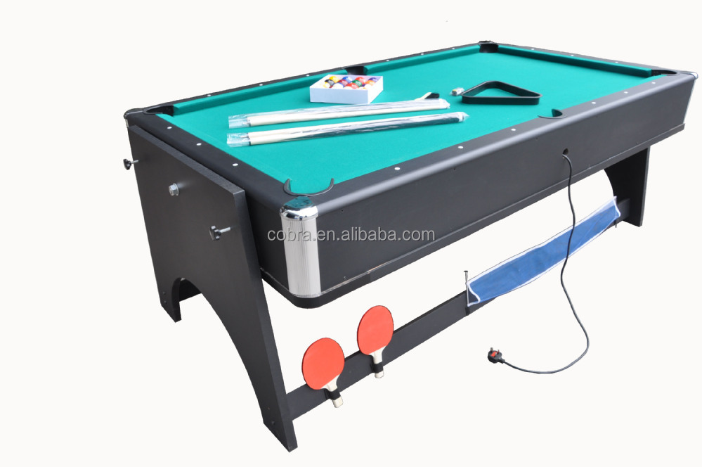 KBL B1204 4 In 1 Game Table(pool Table, Air Hockey Table,