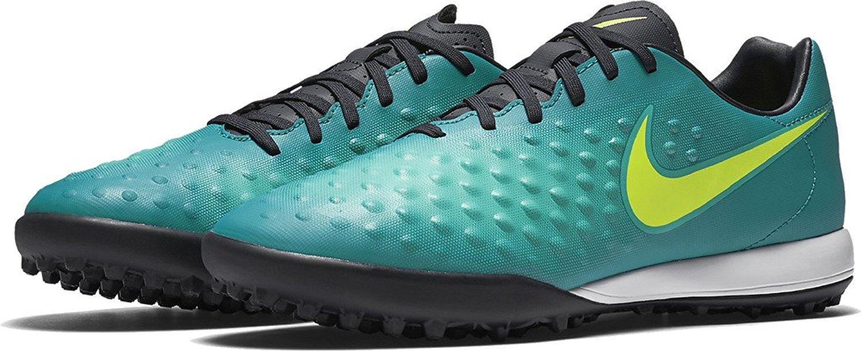 Get Quotations · Nike Magista Onda II TF Rio Teal Volt Obsidian Clear Jade  Men s Shoes 49b9db14c9333
