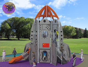 Rocket Series Kids Attractive Game PE Playground Equipment
