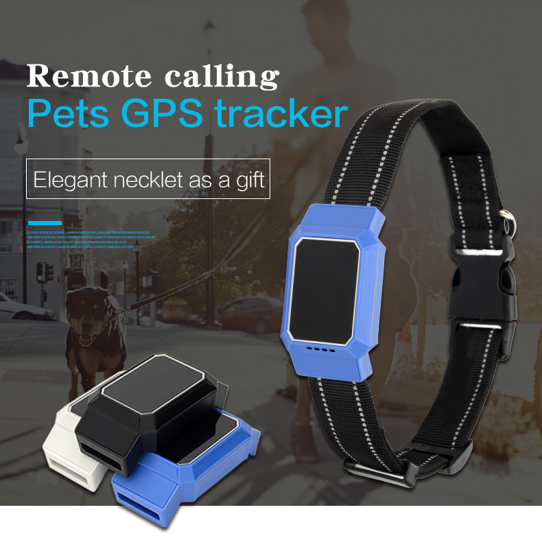 pet gps tracker waterproof IP67 Geo fence small tracking device for dogs