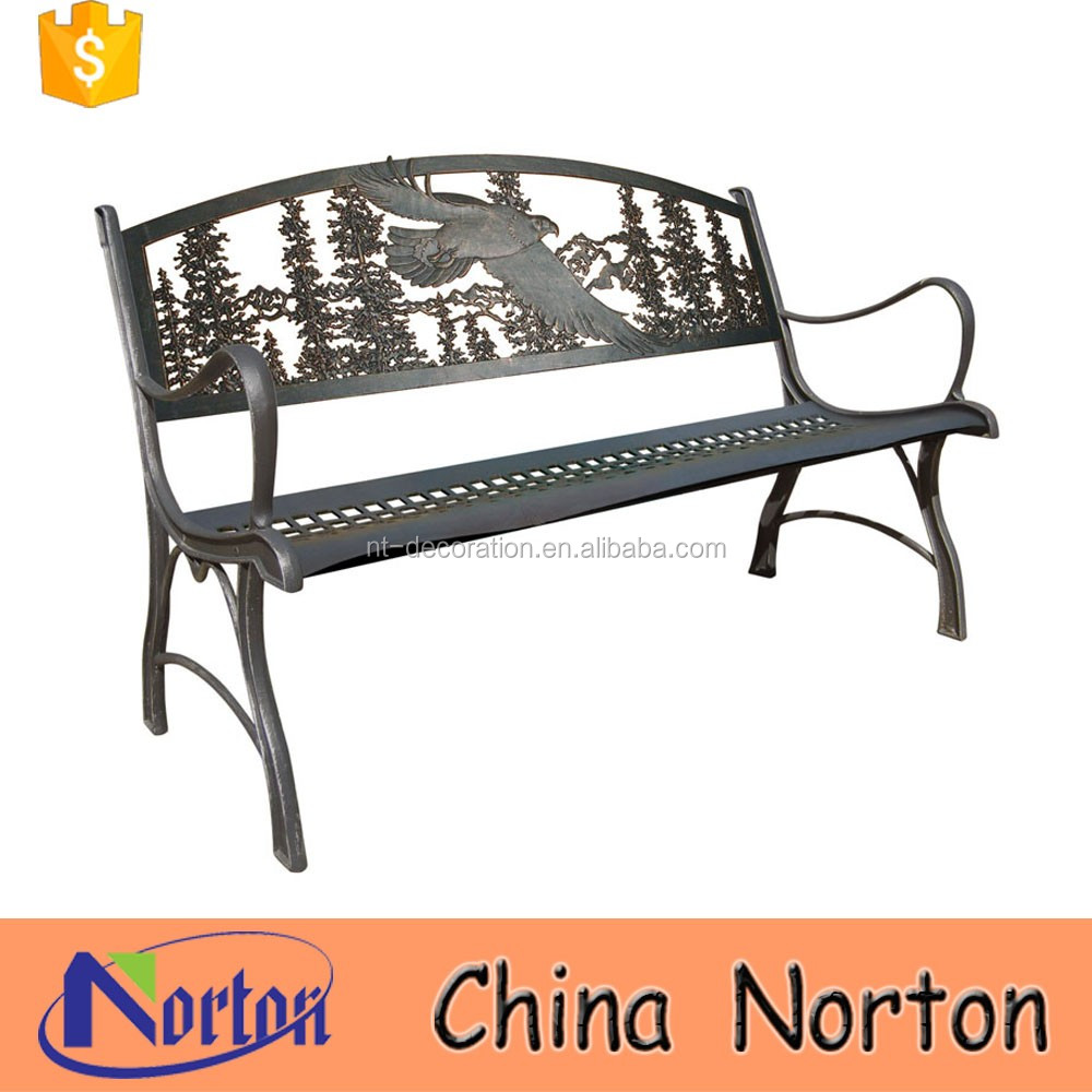 Metal Furniture Garden Eagle Design Benches Outdoor Ntirh 010y Buy Eagle Design Benches