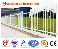 High quality steel or aluminium fence with suitable price : fence privacy screen