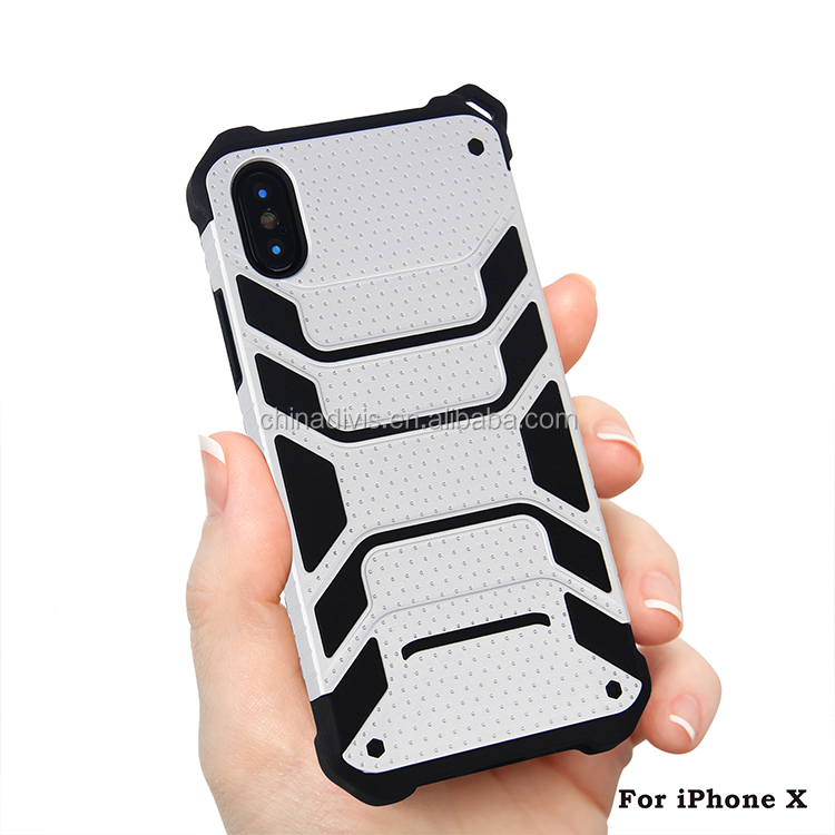 For iphone x 2in1 Case Hybrid Full-Body ShockProof Hard&Soft Heavy Duty High Impact Case Cover Shell