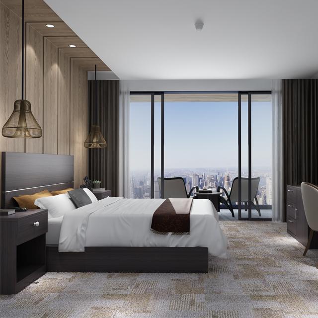 5 نجوم فندق جناح الأثاث المنزلي أثاث غرفة التصميم مجموعات غرف النوم