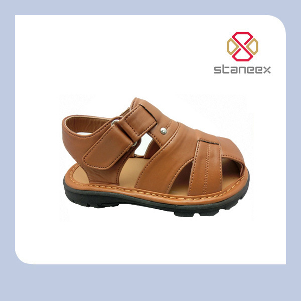 New design Fashion High Quality Italian Mens Leather Sandals for Men And Kid