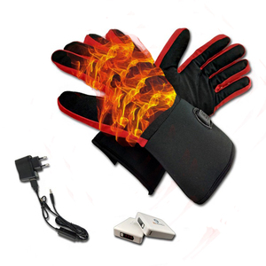Motorcycle Ski Snowboard Rechargeable Battery Heated Gloves for outdoor activities