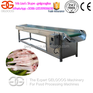 CE Approved Chicken Paws Peeling Machine/Chicken Feet Vacuum Packing Machine