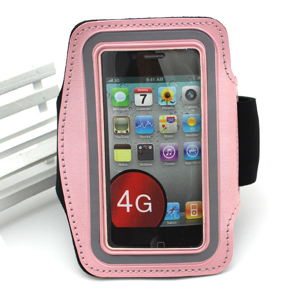 Singstar Wholesale Leather Sports Armband for <strong>Iphone</strong> <strong>4G</strong>