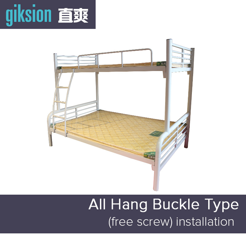 (ZS910#) Metal dormitory triple bunk bed for school student and kids