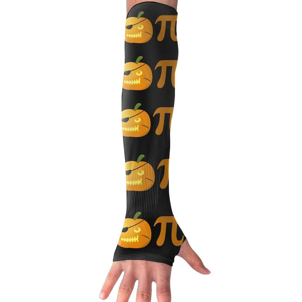 PUMPKIN PIE Unisex UV Protection Cooling Arm Sleeves For Men Women Sunblock Cooler Protective Sports