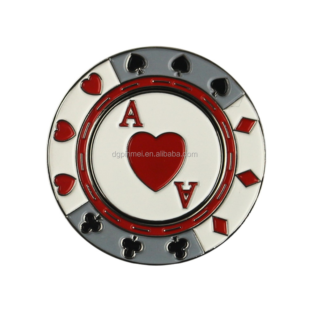 Unique Cheap Golf poker chip With Ball Markers Wholesale