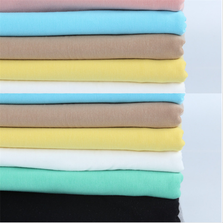 cheap stock shaoxing keqiao stocklot cotton slub yarn single jersey for t shirt