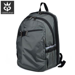 OEM order customized design man polyester 17 inch laptop backpack bag