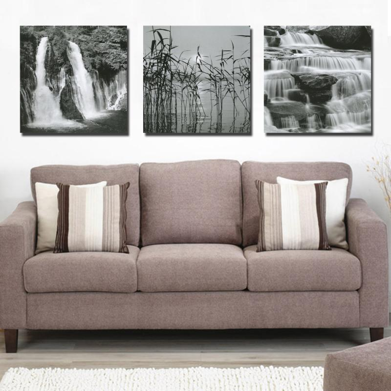 Unframed 3 Pieces about beauty lake landscape Modern Home Wall Decor Canvas picture Art HD Print Painting On Canvas LKB-ZH-199